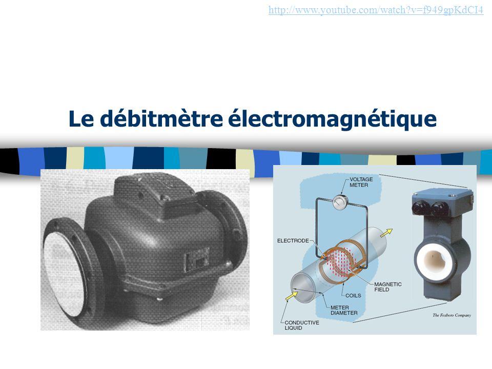 Le débitmètre électromagnétique
