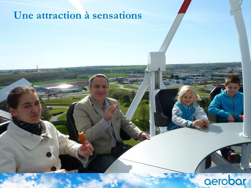 Une attraction à sensations