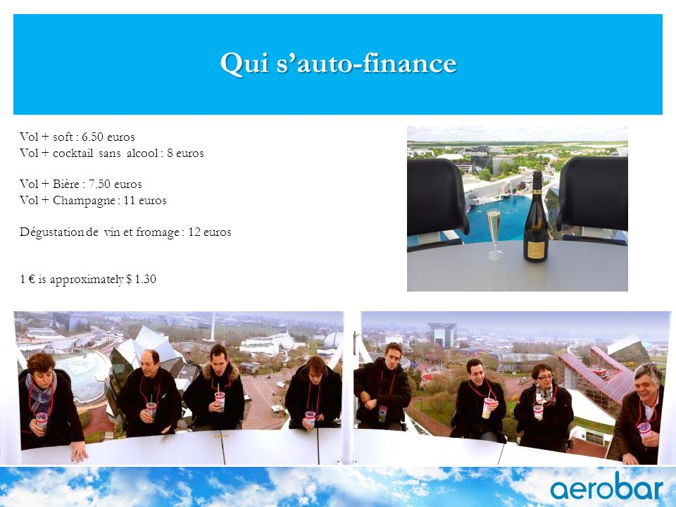 Qui s'auto-finance Vol + soft : 6.50 euros