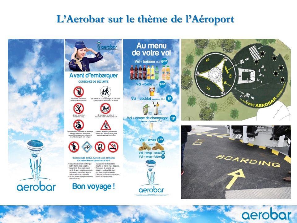 L'Aerobar sur le thème de l'Aéroport