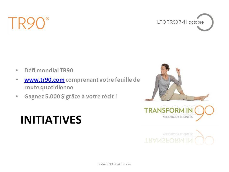 INITIATIVES Défi mondial TR90