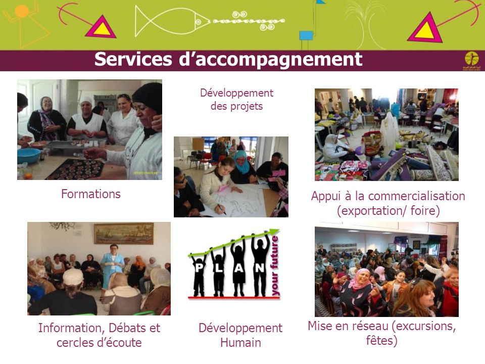 Services d'accompagnement