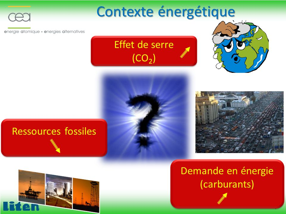 Demande en énergie (carburants)