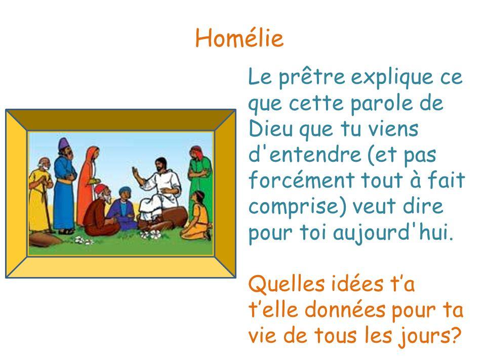 Homélie