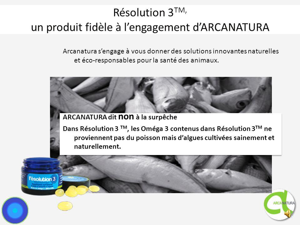 Résolution 3TM, un produit fidèle à l'engagement d'ARCANATURA
