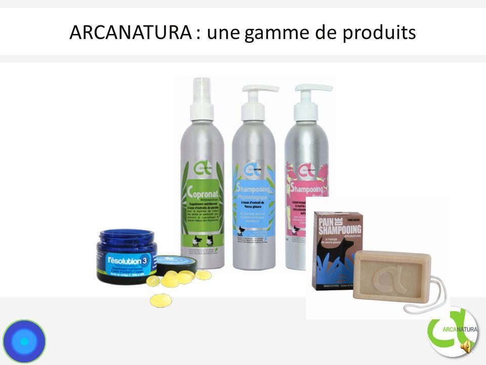 ARCANATURA : une gamme de produits