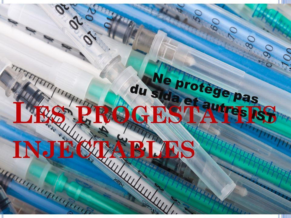 Les progestatifs injectables