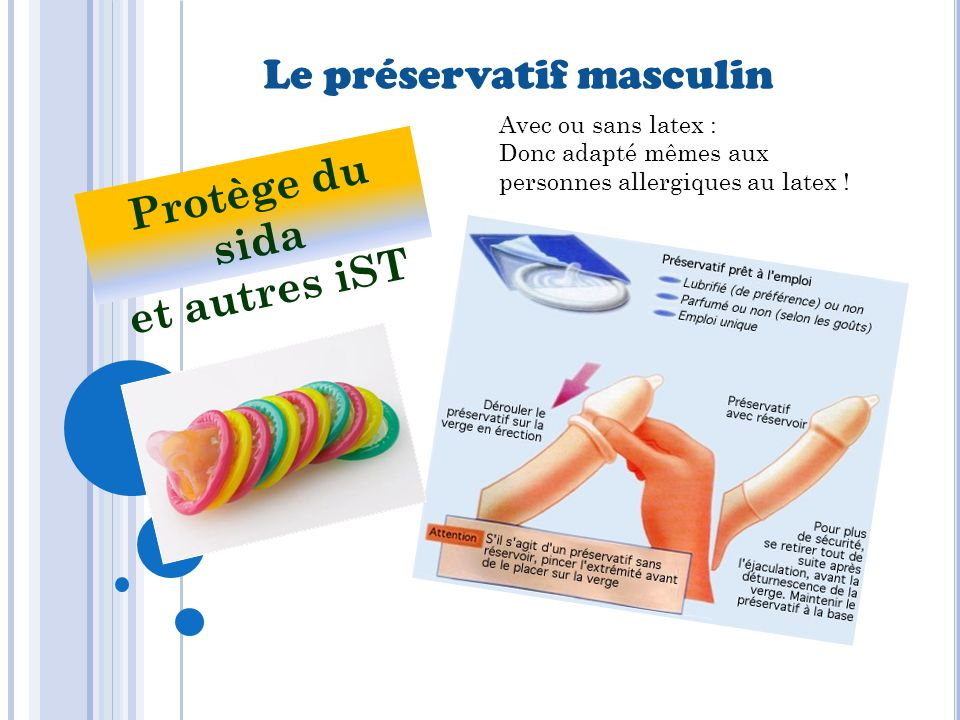 Protège du sida et autres iST