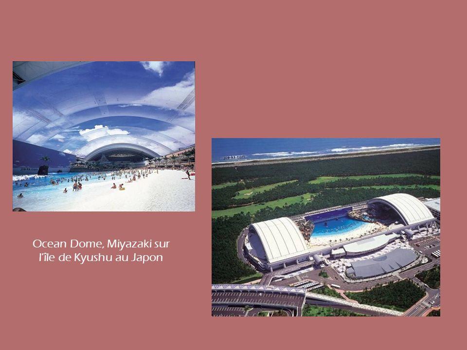 Ocean Dome, Miyazaki sur l'île de Kyushu au Japon