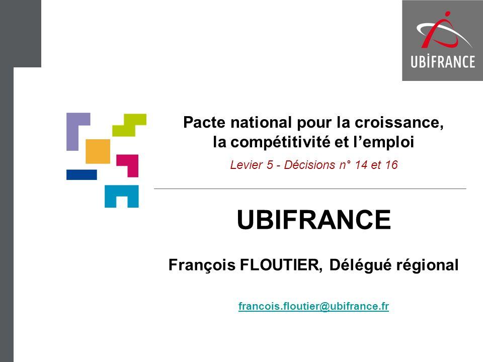 François FLOUTIER, Délégué régional