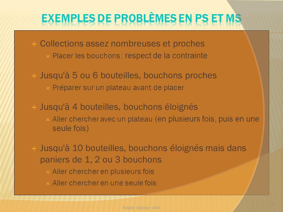 Exemples de problèmes en PS et MS