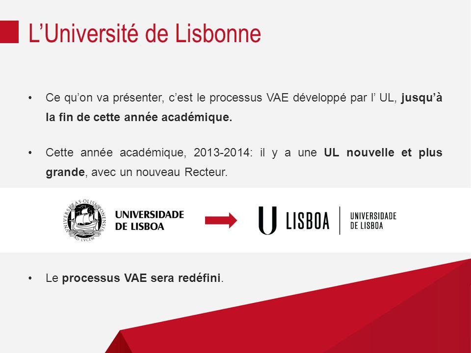L'Université de Lisbonne