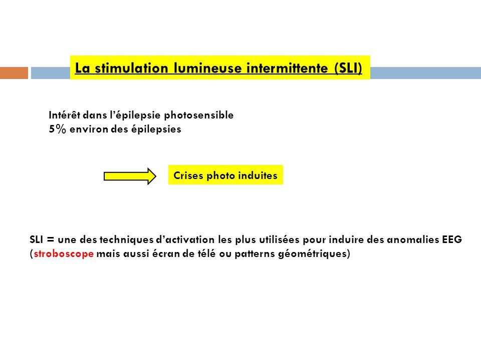 La stimulation lumineuse intermittente (SLI)