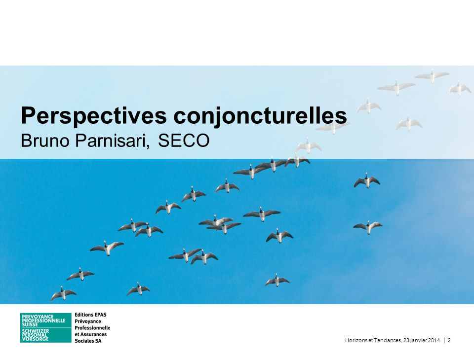 Perspectives conjoncturelles