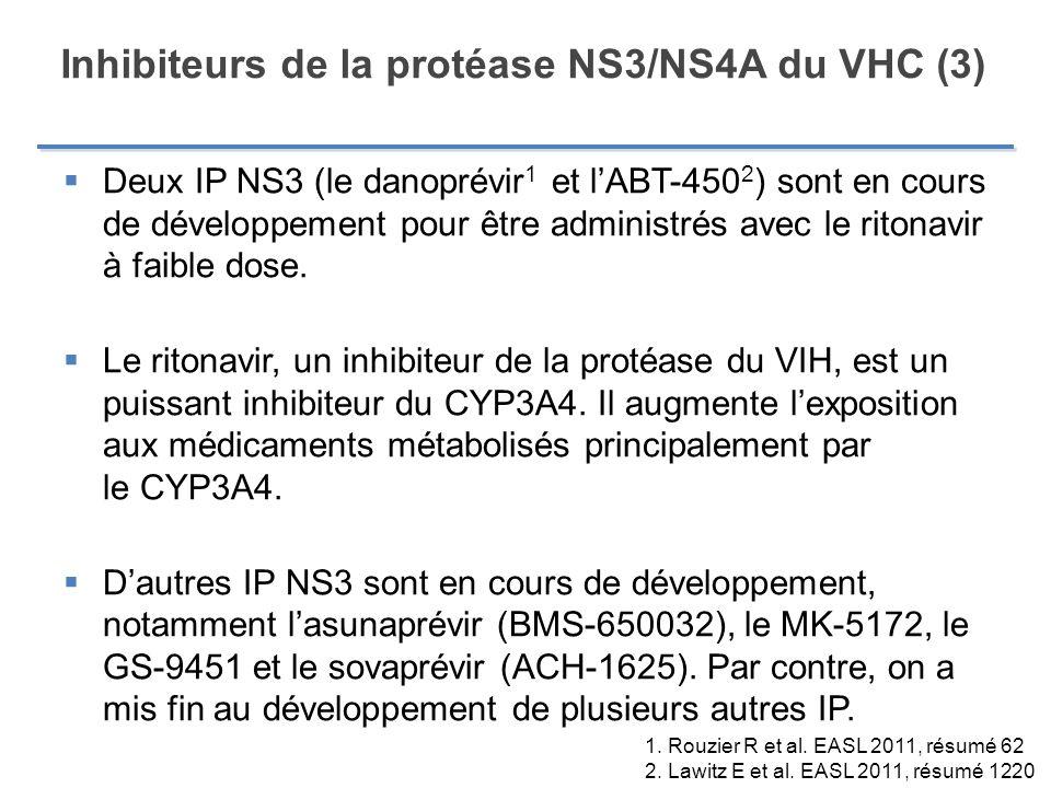 Inhibiteurs de la protéase NS3/NS4A du VHC (3)