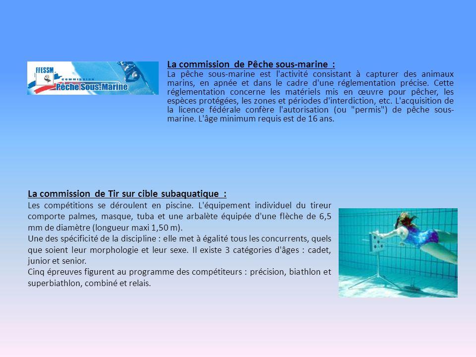 La commission de Pêche sous-marine :