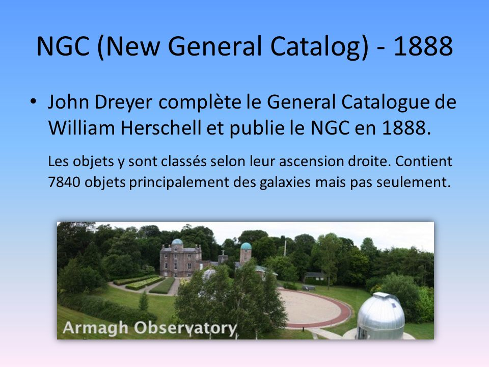 NGC (New General Catalog) - 1888