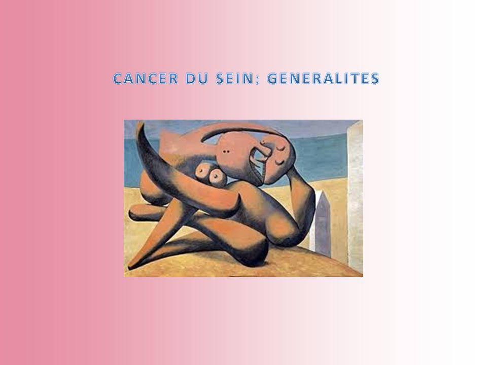 CANCER DU SEIN: GENERALITES