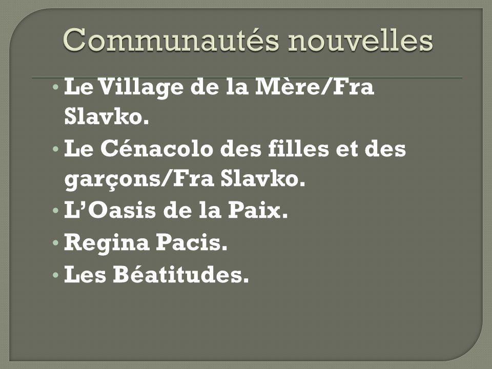 Communautés nouvelles