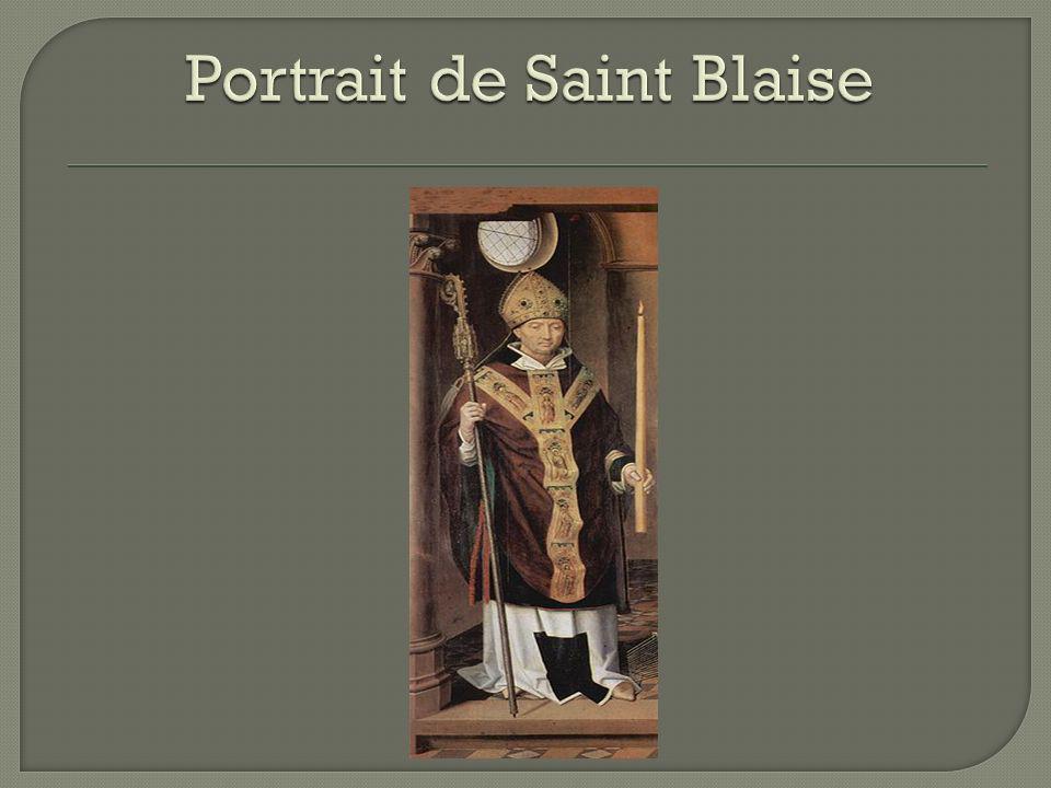 Portrait de Saint Blaise