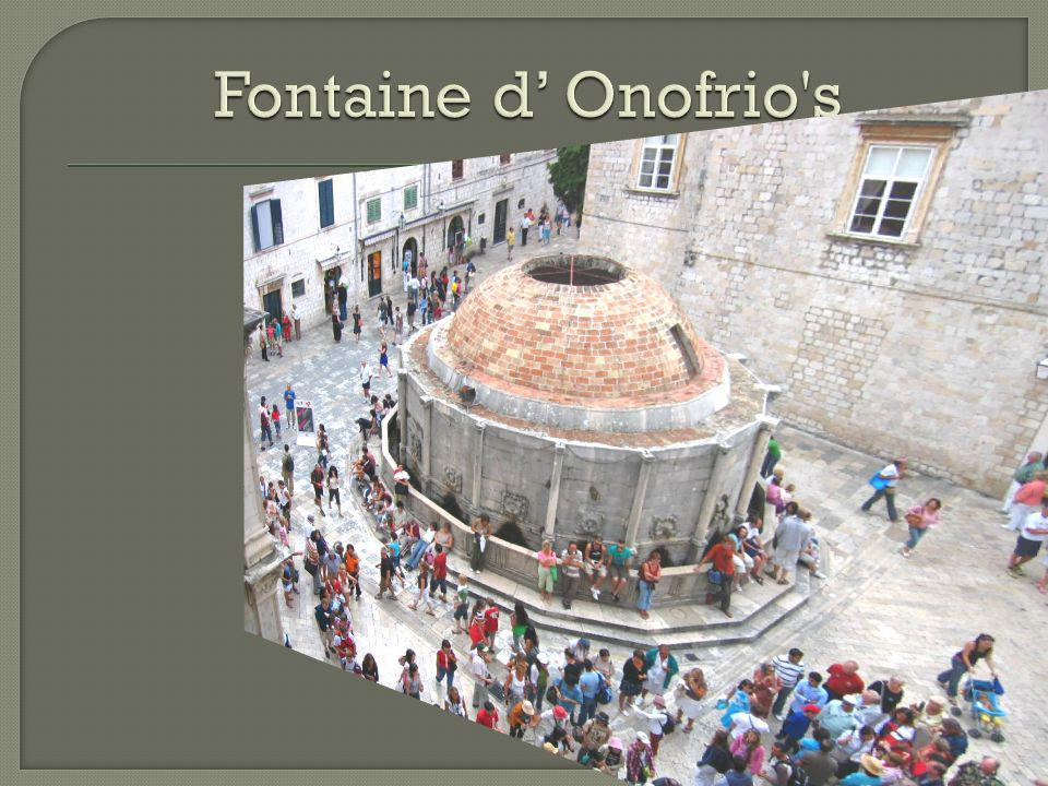 Fontaine d' Onofrio s