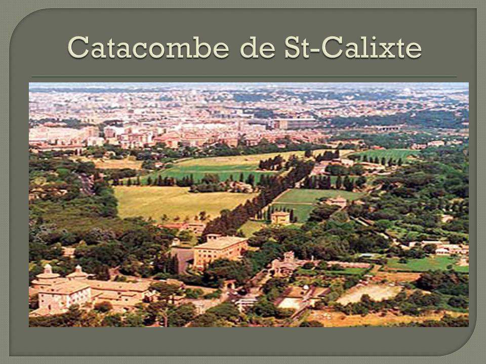 Catacombe de St-Calixte