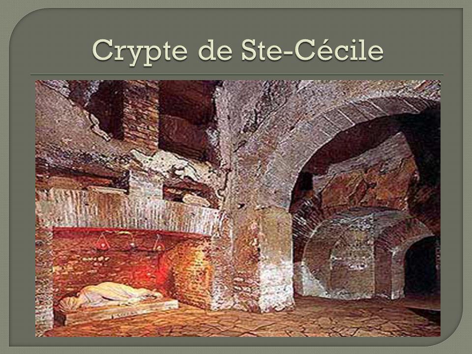 Crypte de Ste-Cécile