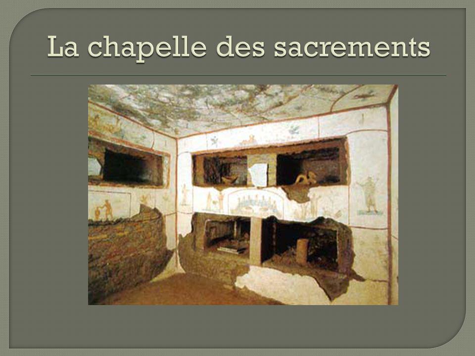 La chapelle des sacrements