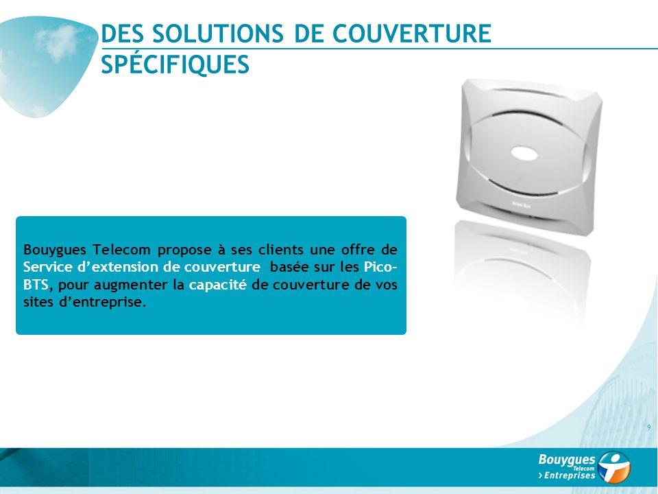 DES SOLUTIONS DE COUVERTURE SPÉCIFIQUES