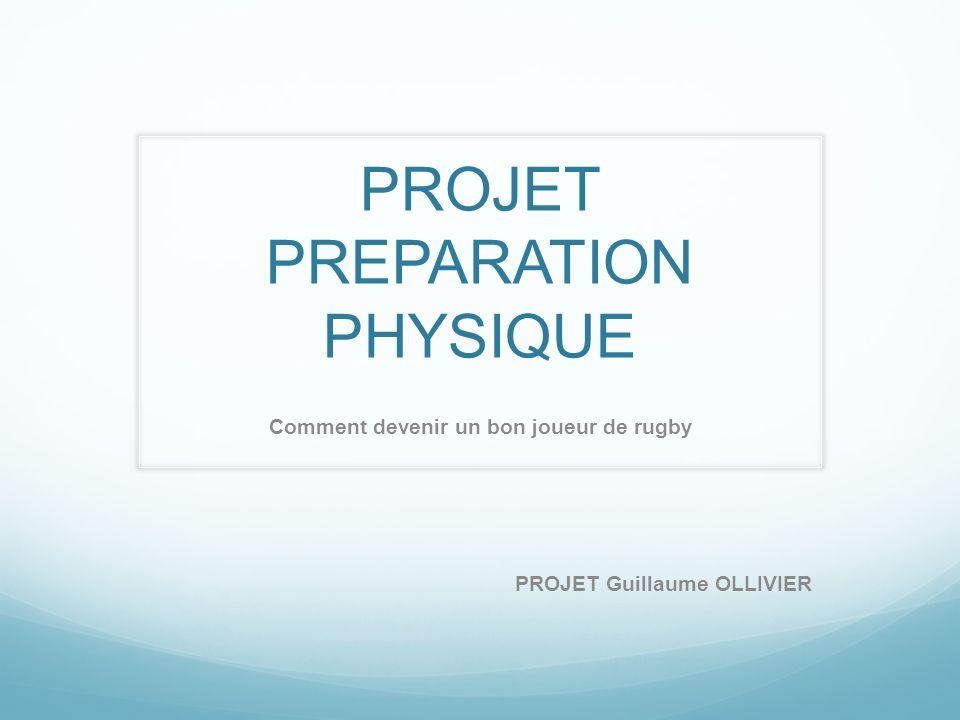 PROJET PREPARATION PHYSIQUE