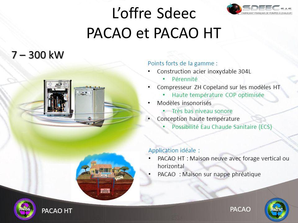 L'offre Sdeec PACAO et PACAO HT