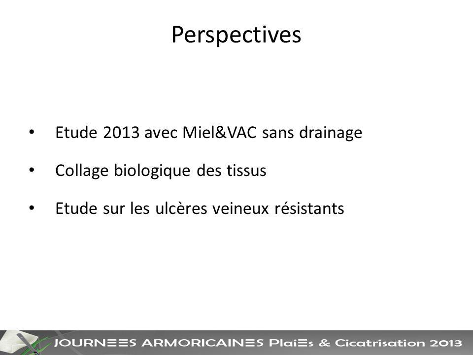 Perspectives Etude 2013 avec Miel&VAC sans drainage
