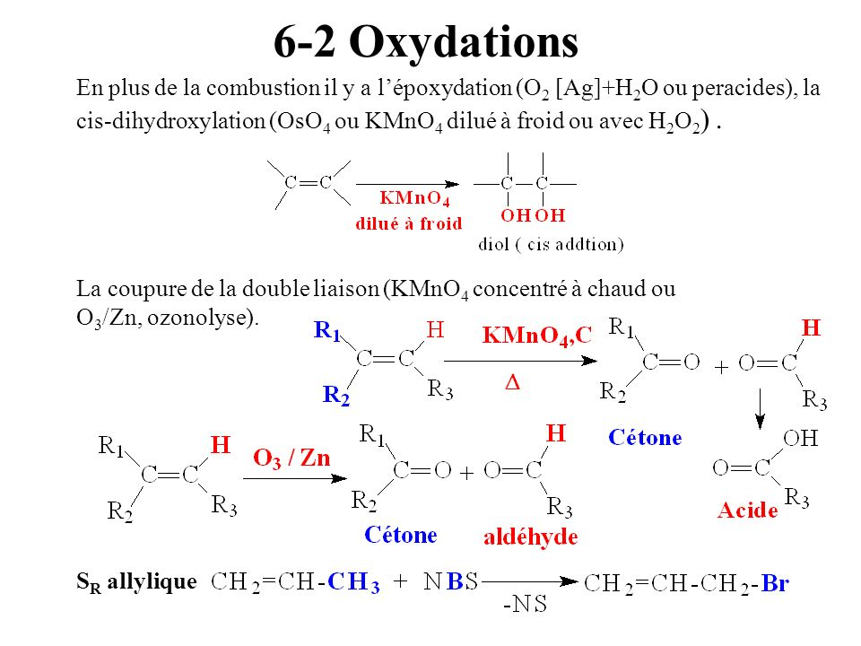 6-2 Oxydations