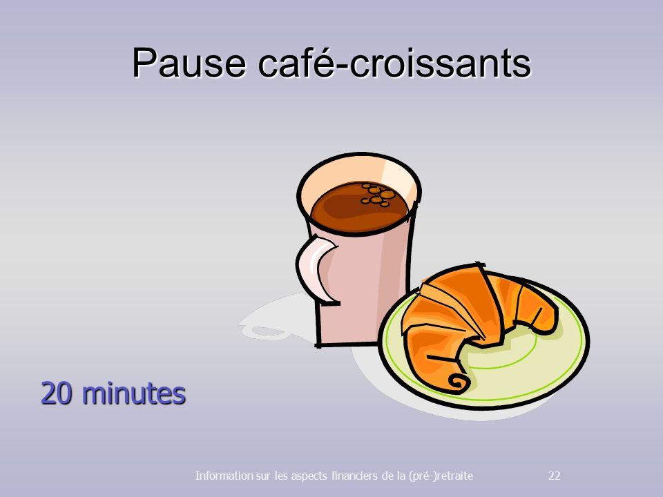Pause café-croissants