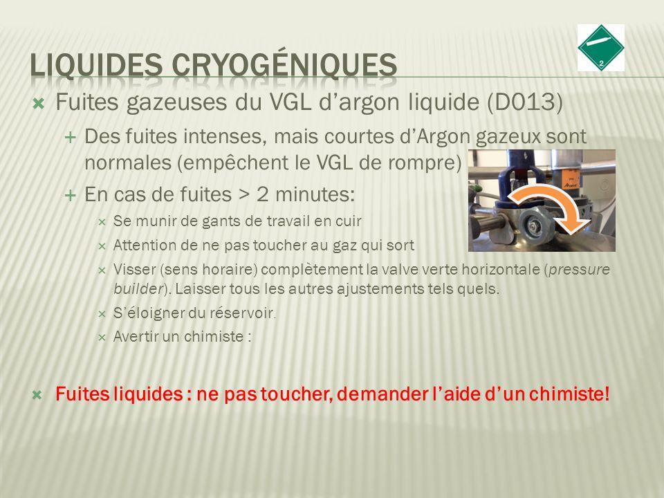 Liquides cryogéniques