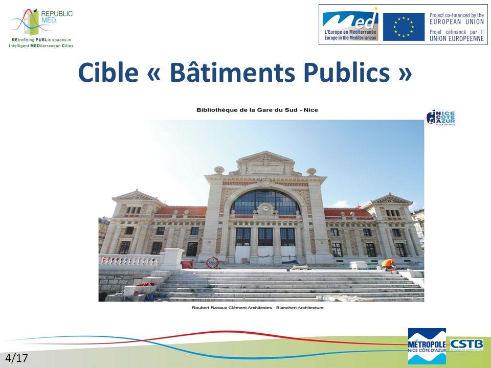 Cible « Bâtiments Publics »