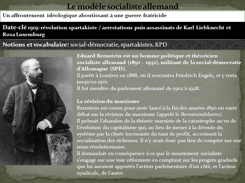 Le modèle socialiste allemand