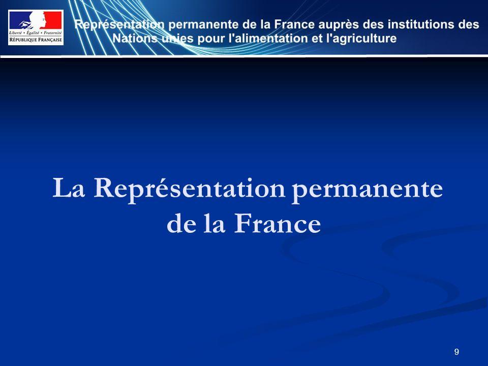 La Représentation permanente de la France