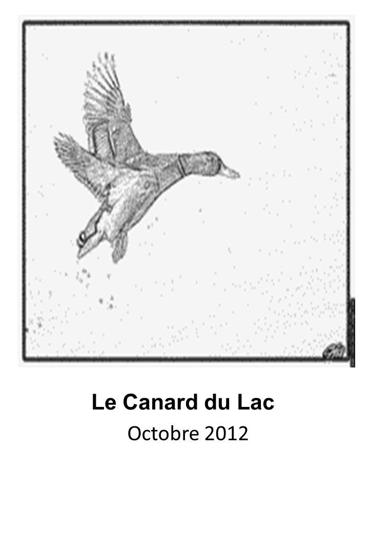 Le Canard du Lac Octobre 2012