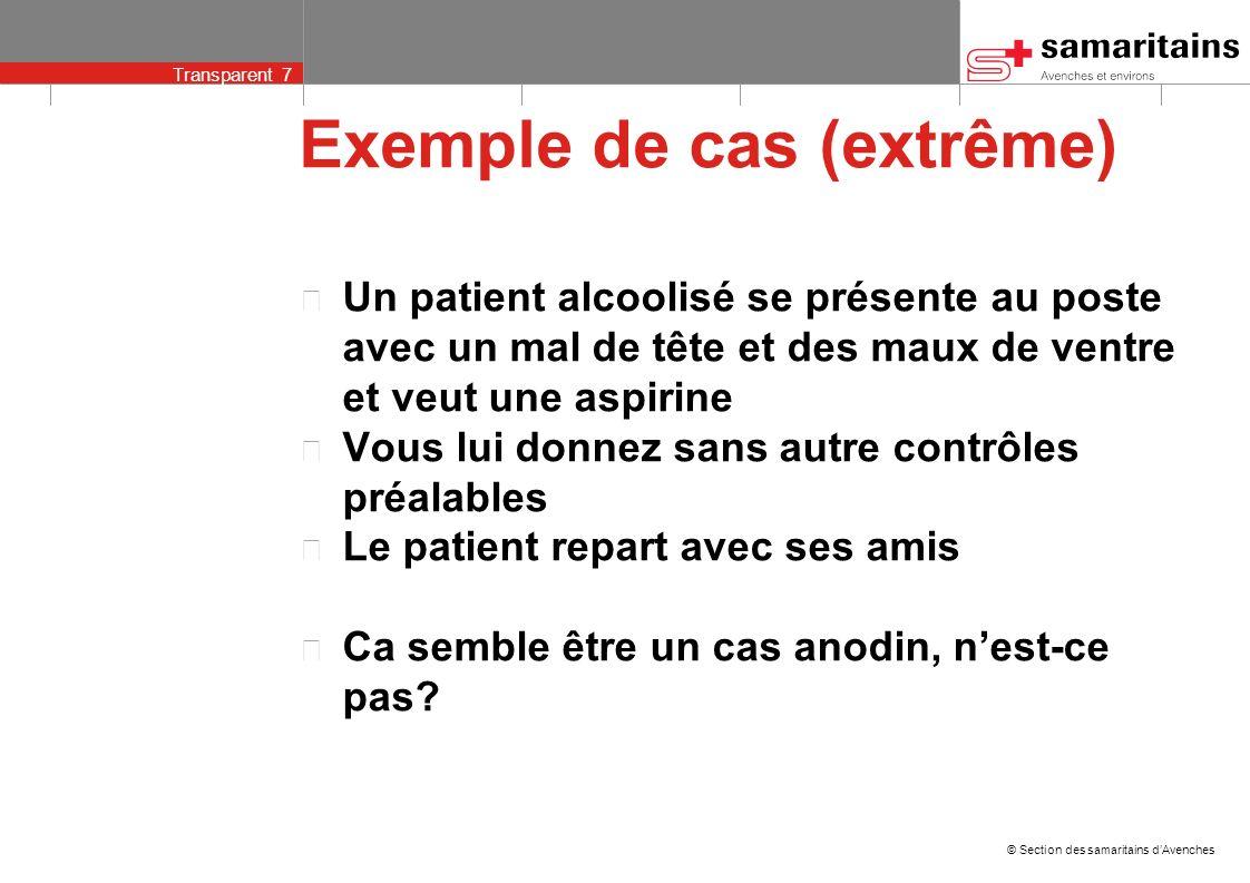 Exemple de cas (extrême)