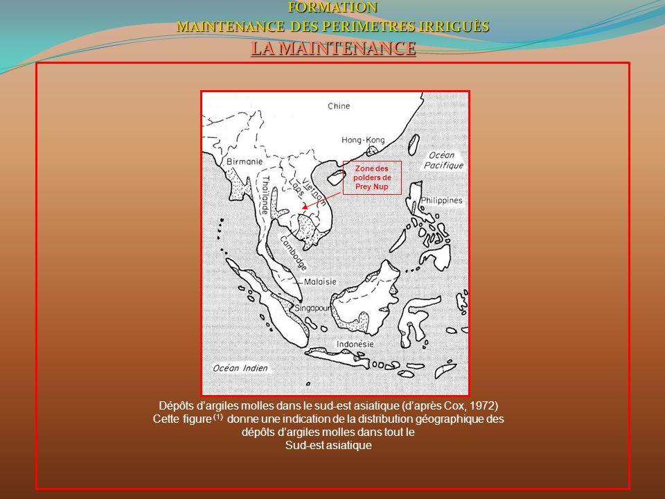 MAINTENANCE DES PERIMETRES IRRIGUÈS Zone des polders de Prey Nup