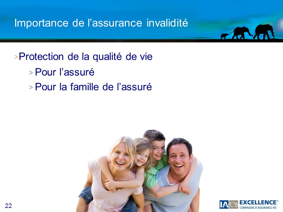 Importance de l'assurance invalidité