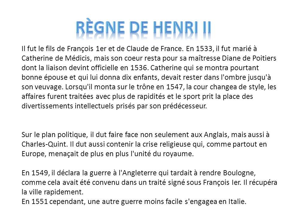 Règne de Henri II
