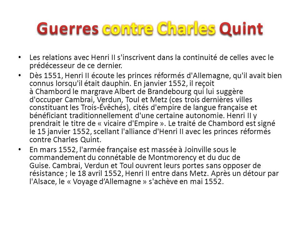 Guerres contre Charles Quint