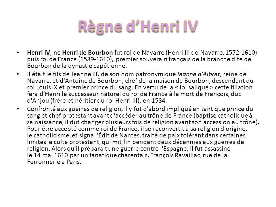 Règne d'Henri IV