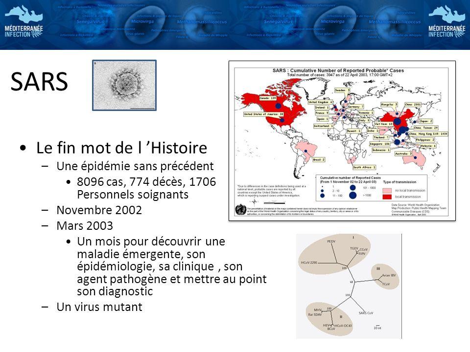 SARS Le fin mot de l 'Histoire Une épidémie sans précédent