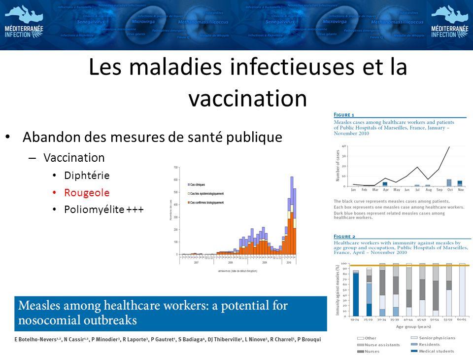 Les maladies infectieuses et la vaccination