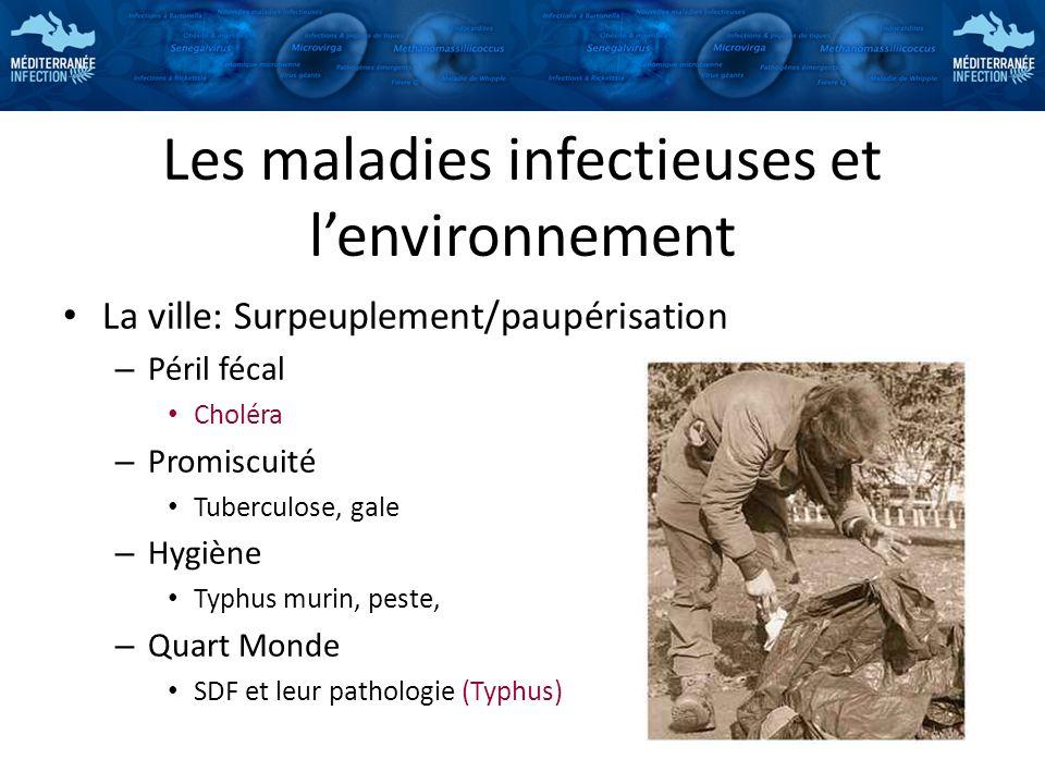 Les maladies infectieuses et l'environnement