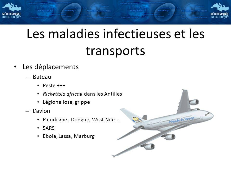 Les maladies infectieuses et les transports