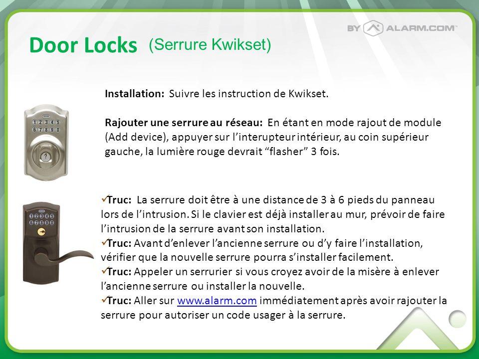 Door Locks (Serrure Kwikset)